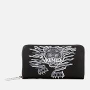 KENZO Women's Icon Continental Wallet - Black