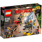 The LEGO Ninjago Movie: Ataque de la piraña (70629)