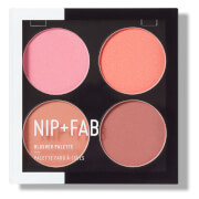 NIP + FAB Make Up Blusher Palette - Blushed 15.2g