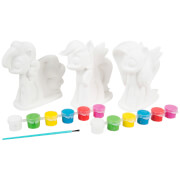 My Little Pony 3 Pack Paint Your Own Figure Craft Set