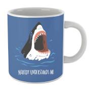 Sharks Nobody Understands Me Mug