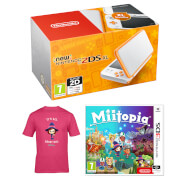 New Nintendo 2DS XL Mii Girl Pack