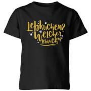 International Lebkiuchen Kids' T-Shirt - Black