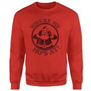 Where My Ho's At Sweatshirt - Red