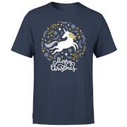 Camiseta Navidad Unicornio