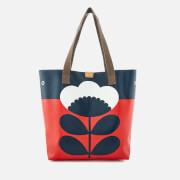 Orla Kiely Women's Willow Tote Bag - Poppy
