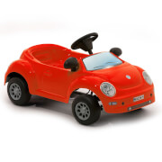 Volkswagen Beetle Baby Pedal Power Car - Red