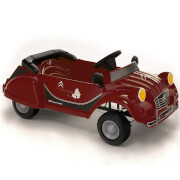 Citroen Charleston 2CV Pedal Power Car - Red