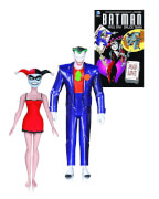 DC Figs Batman Animated Mad Love Joker & Harley 2pk