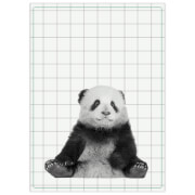 Cotton Tea Towel - Panda