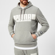 Puma Men's Style Athletics Hoody - Medium Grey Heather