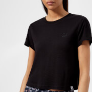 Puma Women's Classics Structured Short Sleeve T-Shirt - Cotton Black