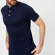 Ted Baker Men's Pug Stripe Detail Polo Shirt - Navy