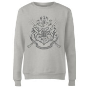 Harry Potter Draco Dormiens Nunquam Titillandus Frauen Sweatshirt - Grau