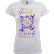 Harry Potter Honeydukes Chocolate Frogs Dames T-shirt - Grijs/Paars/Goud