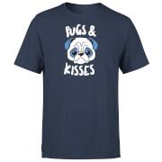 Pugs & Kisses T-Shirt - Navy