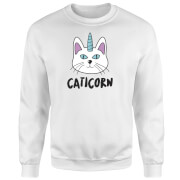 Caticorn Sweatshirt - White