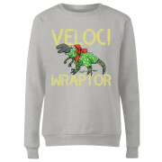 Veloci Wraptor Women's Sweatshirt - Grey