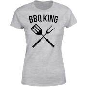 BBQ King Women's T-Shirt - Grey