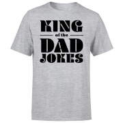King of the Dad Jokes T-Shirt - Grey