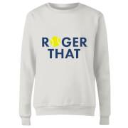Roger That Women's Sweatshirt - White