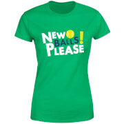 New Balls Please Women's T-Shirt - Kelly Green