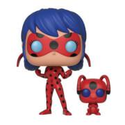 Miraculous Ladybug mit Tikki Pop! und Buddy Vinyl Figur