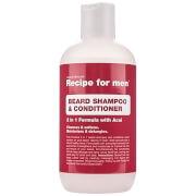 Recipe for Men Beard Shampoo and Conditioner 250 ml