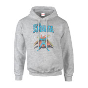Marvel Doctor Strange Energy Men's Grey Pullover Hoodie