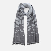 McQ Alexander McQueen Women's Swallow Degrade Scarf - Ash Grey