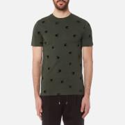 McQ Alexander McQueen Men's Flock Swallow T-Shirt - Khaki