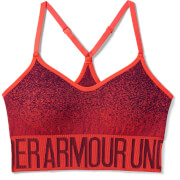 Under Armour Women's Seamless Ombre Novelty Sports Bra - Red