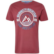 UCLA Men's Moiso Mountain T-Shirt - Ruby Wine
