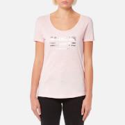 Barbour International Women's Leader T-Shirt - Pale Pink Marl