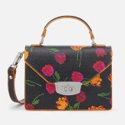 Ganni Women's Gallery Floral Bag - Black