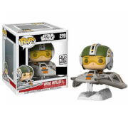 Figura Pop! Vinyl Exclusiva Wedge Antilles en Aerodeslizador - Star Wars