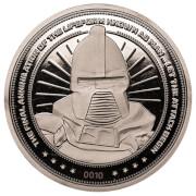 Battlestar Galactica Collector's Coin: Silver Variant – Zavvi Exclusive