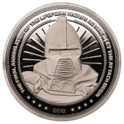 Battlestar Galactica Verzamelmunt: Zilveren Variant – Zavvi Exclusive