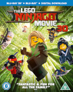 The LEGO Ninjago Movie 3D (Includes 2D Version)