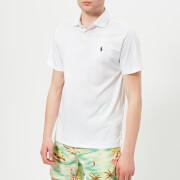 Polo Ralph Lauren Men's Short Sleeve Pima Polo Shirt - White
