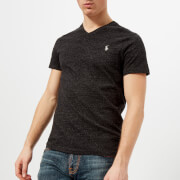 Polo Ralph Lauren Men's V-Neck T-Shirt - Black Marl Heather