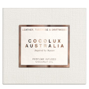Cocolux Australia Leather, Tuberose and Driftwood Sol Copper Candle 225g