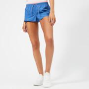 adidas Women's Coloured Band Shorts - Hi Res Blue