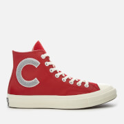 Converse Men's Chuck Taylor All Star 70 Hi-Top Trainers - Enamel Red/Wolf Grey/Egret