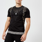 Versace Collection Men's Embellished Crew Neck T-Shirt - Nero