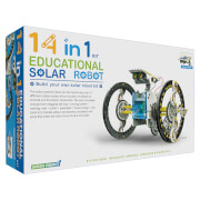 14-in-1 Solar Robot Kit - White/Blue/Black