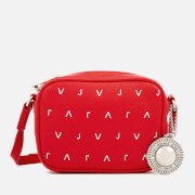 Versace Jeans Women's Embellished Camera Bag - Red