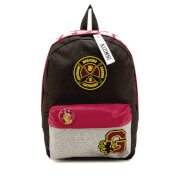 Harry Potter Griffindor House Backpack with Patches - Black