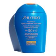 Loción de protección solar antienvejecimiento Expert FPS50+ de Shiseido 100 ml
