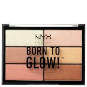 Paleta de Iluminadores Born To Glow da NYX Professional Makeup